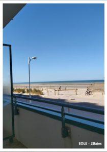 Une vue de puis le balcon
