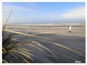 La plage en décembre
